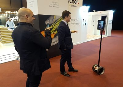Alquiler Robot Telepresencia Grupo ADD