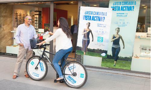 Bici en calle - ADD Promo