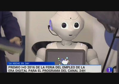 Robot Pepper en Feria Inteligencia Artificial de Grupo ADD Event