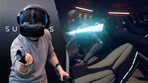 Raw Data- espadas Jedi con Realidad Virtual HTC de Grupo ADD