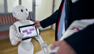Recogida de datos con Robot Pepper de Grupo ADD