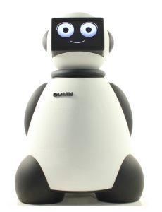 Robot Dumy como Maestro de Ceremonias para eventos - actos - y congresos de Grupo ADD