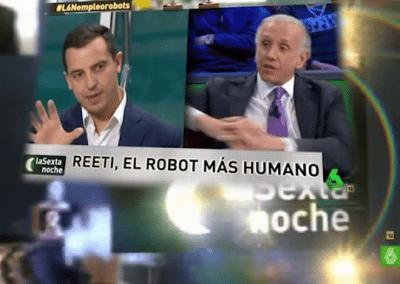 Roberto Menéndez CEO Digital de Grupo ADD con Eduardo Inda en la Sexta Noche