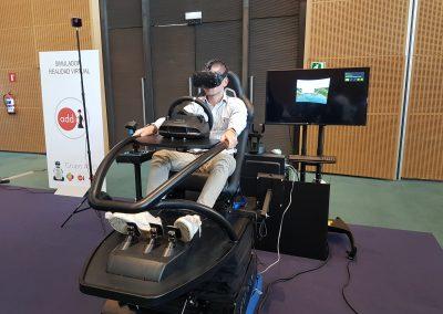 Simulador Montaña Rusa de Realidad Virtual - Grupo ADD
