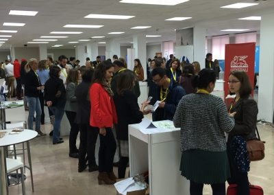 Pasillo Central - Feria del Empleo en la Era Digital 2015