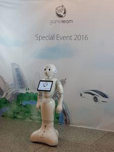 Photocall con Robot Pepper