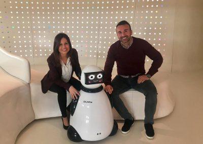 Alquiler y venta de robot Dumy de Grupo ADD para eventos y promociones