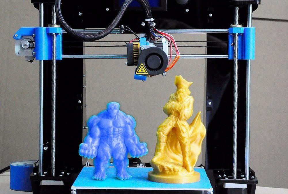 Creatividad e imprimir en 3D
