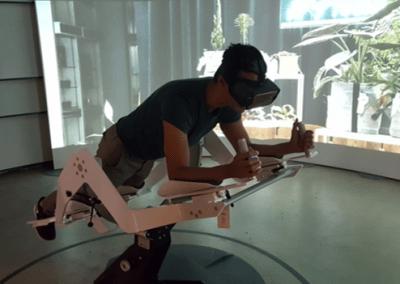 Simulador Vuelo Realidad Virtual de Grupo ADD