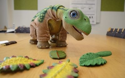 Pleo, el dinosaurio robot