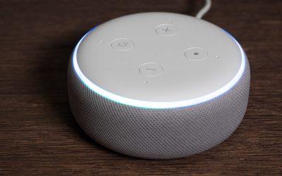 El robot Echo Dot