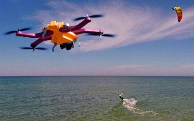 El robot Airdog Drone
