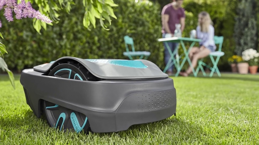 El robot Gardena Smart City Sileno 500