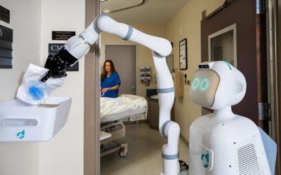 El robot Moxi