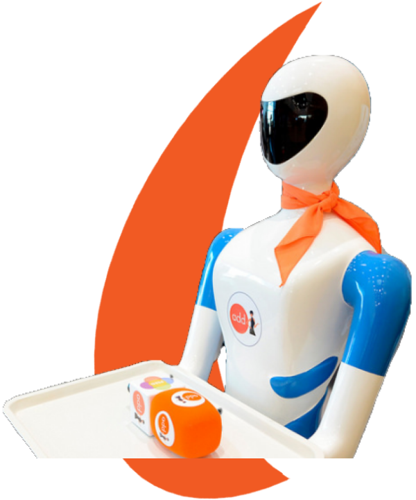 Robot Camarero Lolita